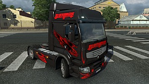 Black Hawk skin for Renault Premium
