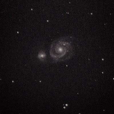 m51 whirlpool galaxy dslr