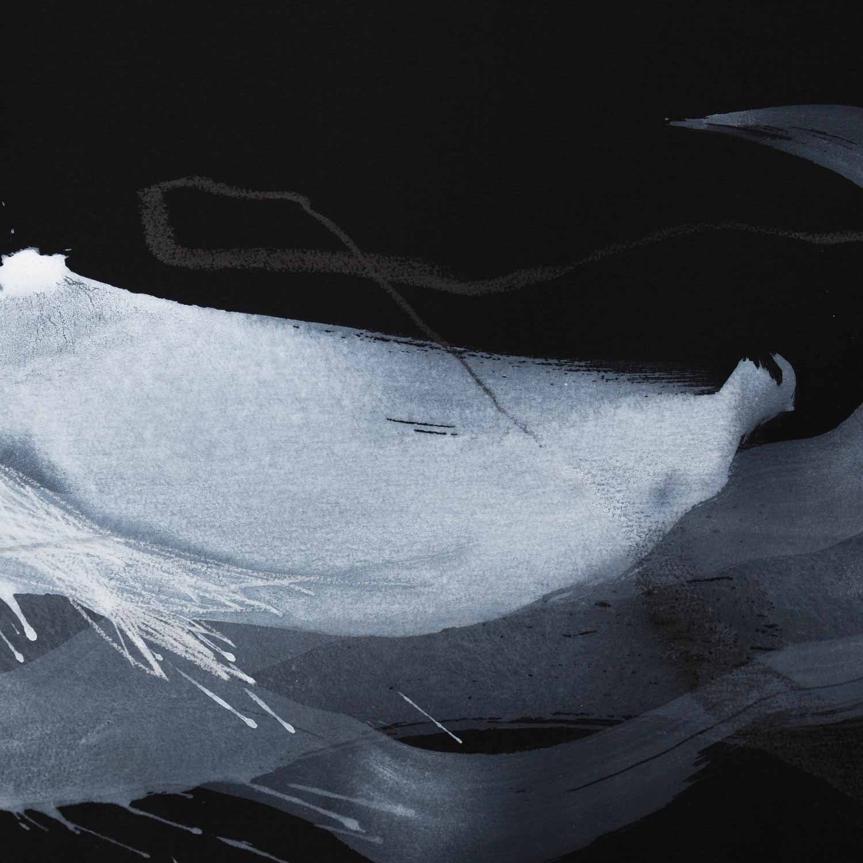 30 x 30 cm, acrylique et crayons sur papier Arches noir. 10 déc 14