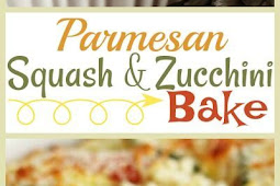 Parmesan Squash and Zucchini Bake Recipe