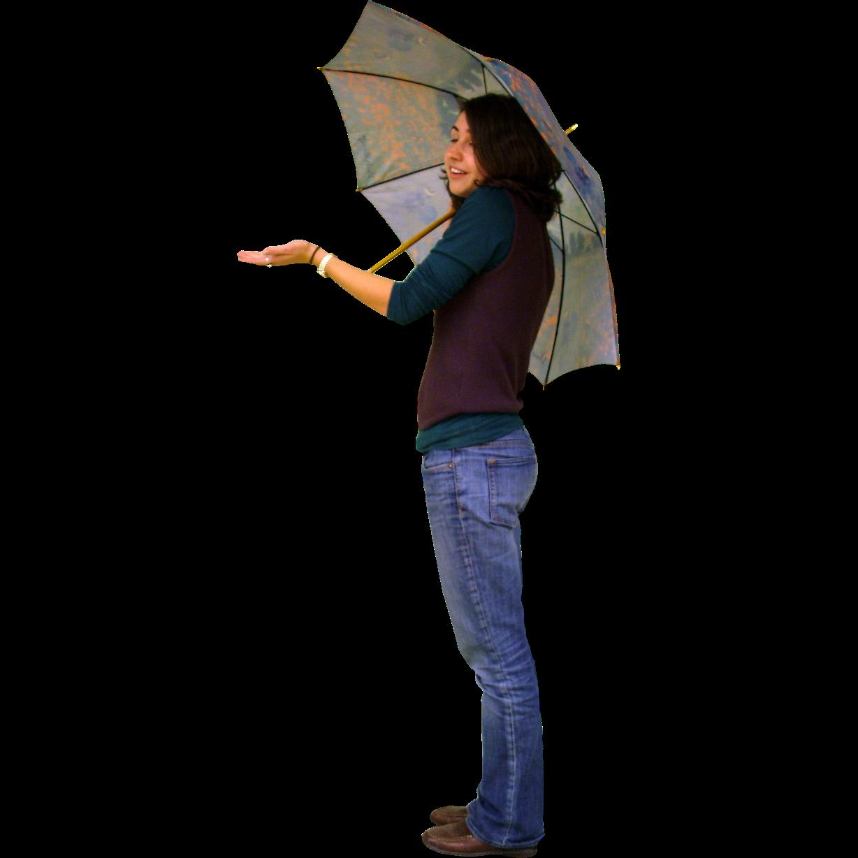woman with umbrella immediate entourage girl with umbrella