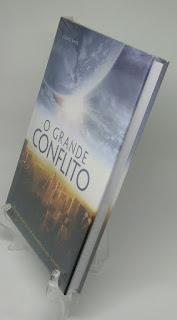 """Imagem do Livro """"O Grande Conflito"""" Capa Especial para venda"""