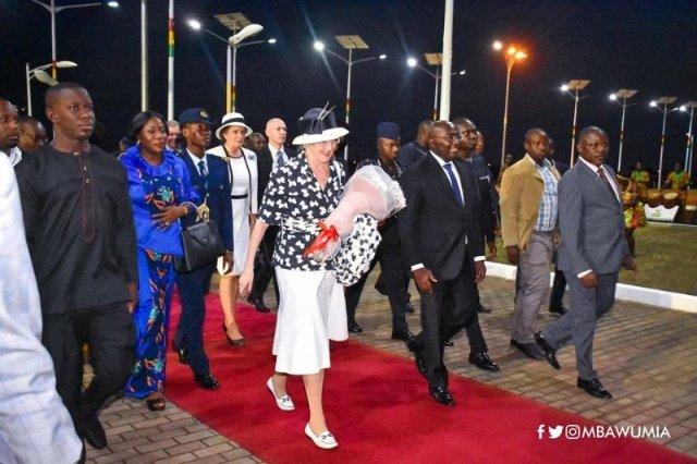Danish Queen Margrethe II leads business delegation to Ghana