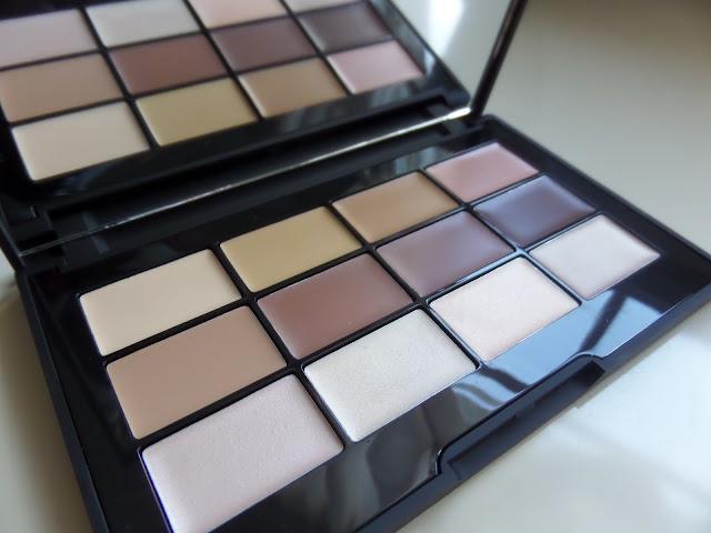 lorac pro conceal/contour palette colors
