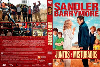 Filme Juntos E Misturados (Blended) DVD Capa