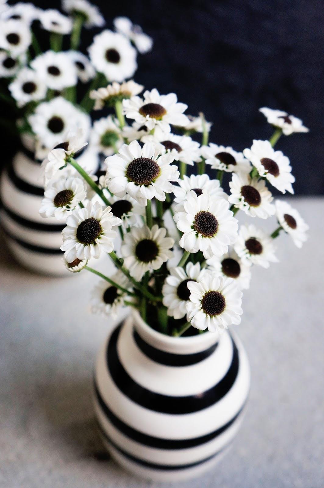 basteln malen Kuchen backen Blumen schwarzweiss