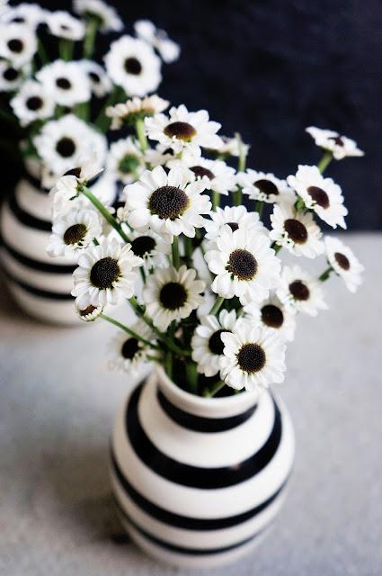 Basteln Malen Kuchen Backen Blumen Schwarz Weiss