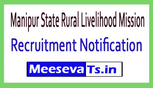 Manipur State Rural Livelihood Mission MSRLM Recruitment