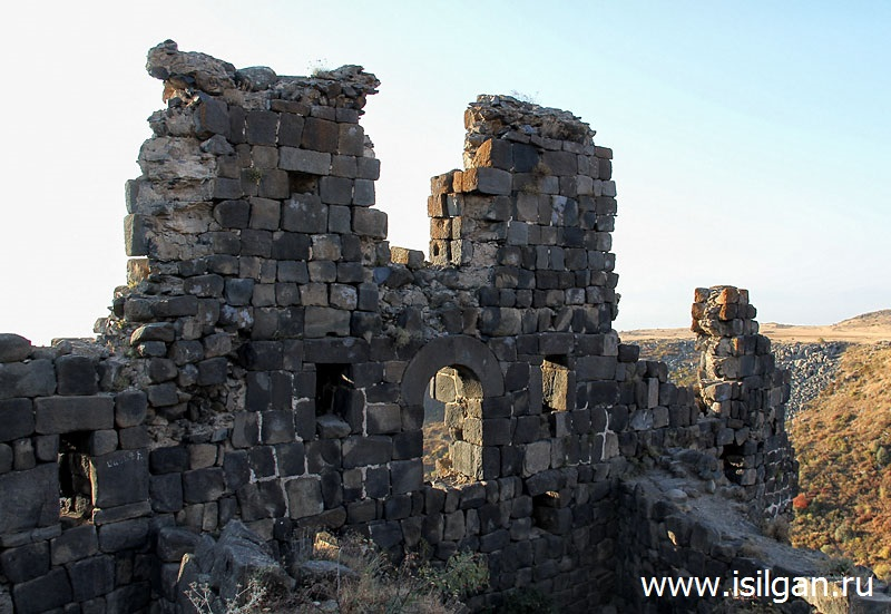 Город-крепость Амберд. Армения