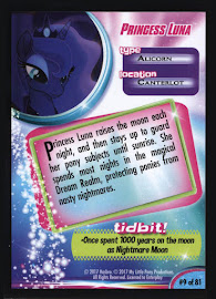 MLP Princess Luna MLP the Movie Trading Card