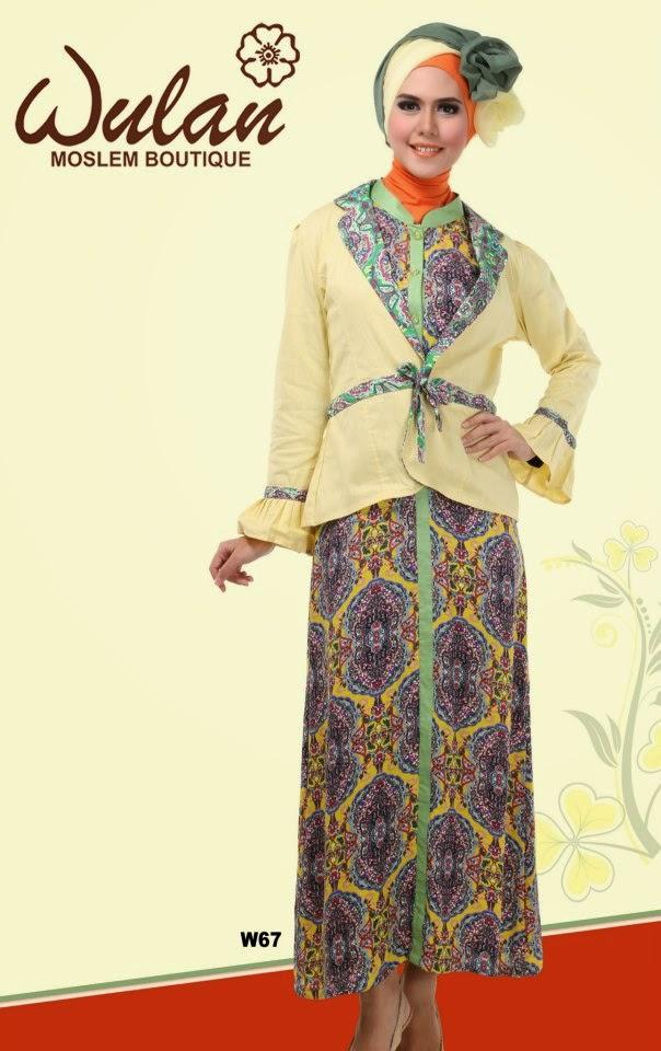Baju Gamis Dari Etnik Yang Keren Info Model Baju Gamis Terbaru