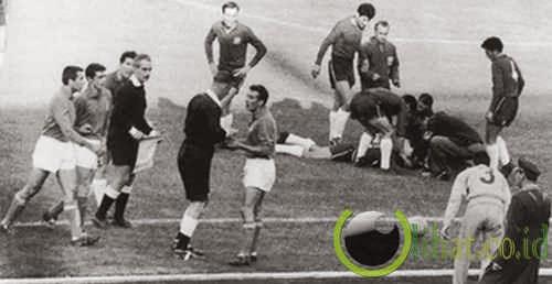 Pertarungan Santiago, Chili vs Italia (1962)