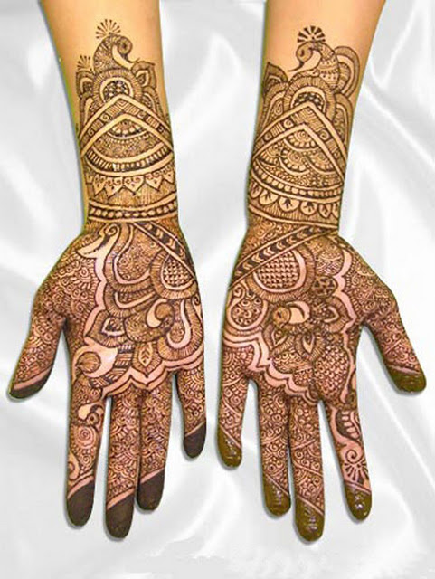 Indian Pakistani Bridal Mehndi Styles, Bridal Henna ...