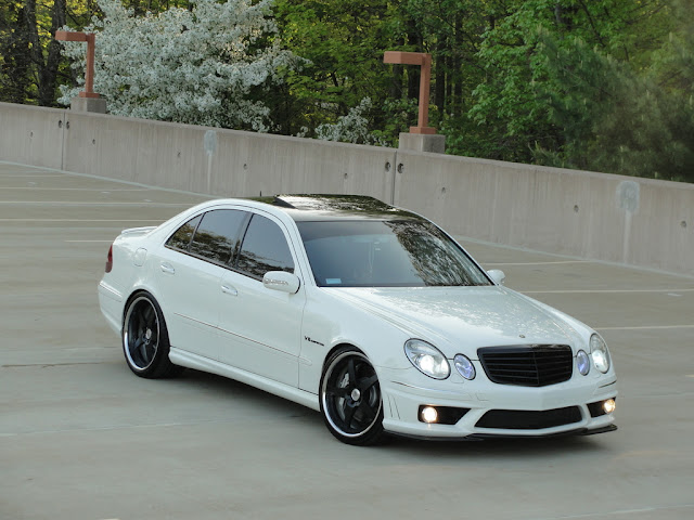 mercedes e 55 amg tuning
