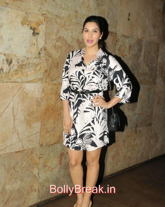 Sophie Choudry, Dia Mirza Hot Pics at 'Tanu Weds Manu Returns' Special Screening