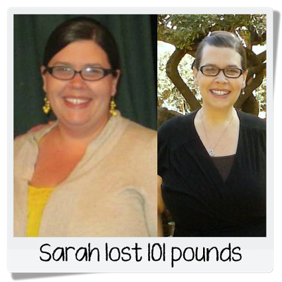 Sarah's before and after