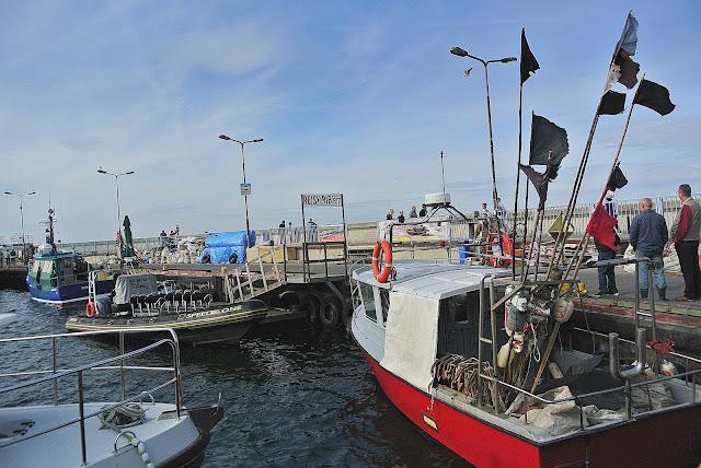 rejsy po morzu na Helu, kurty, statki, oferty