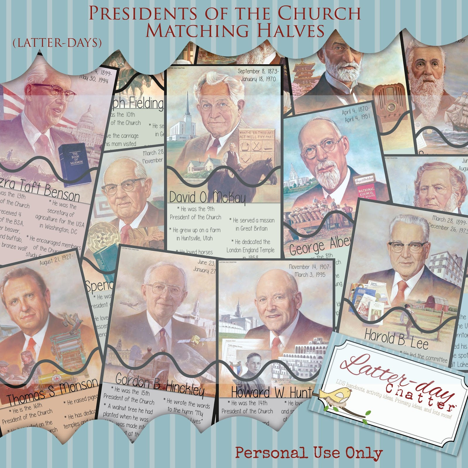 Latter Day Chatter Sunday Box Presidents Of The Church