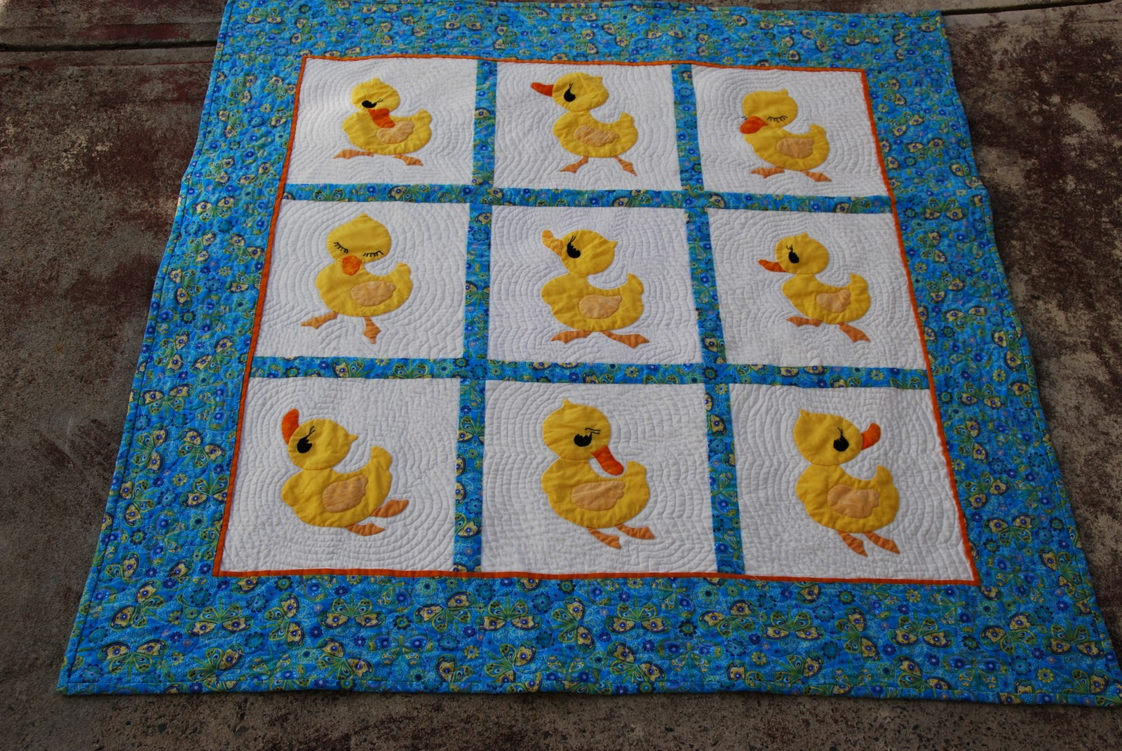 This Quilty Life: Joshua's Duck Quilt