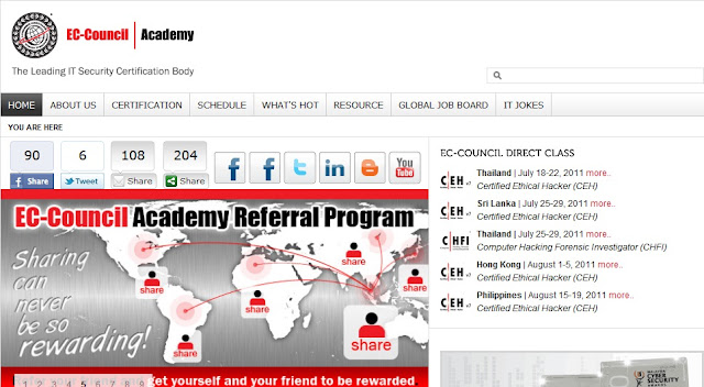 EC-Council Academy Hacked by GaySec (Malaysian hackers)