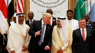 الرئيس ترامب، يسعي لإقامة تحالف لناتو عربي مع دول الخليج العربي لمواجهة ايران