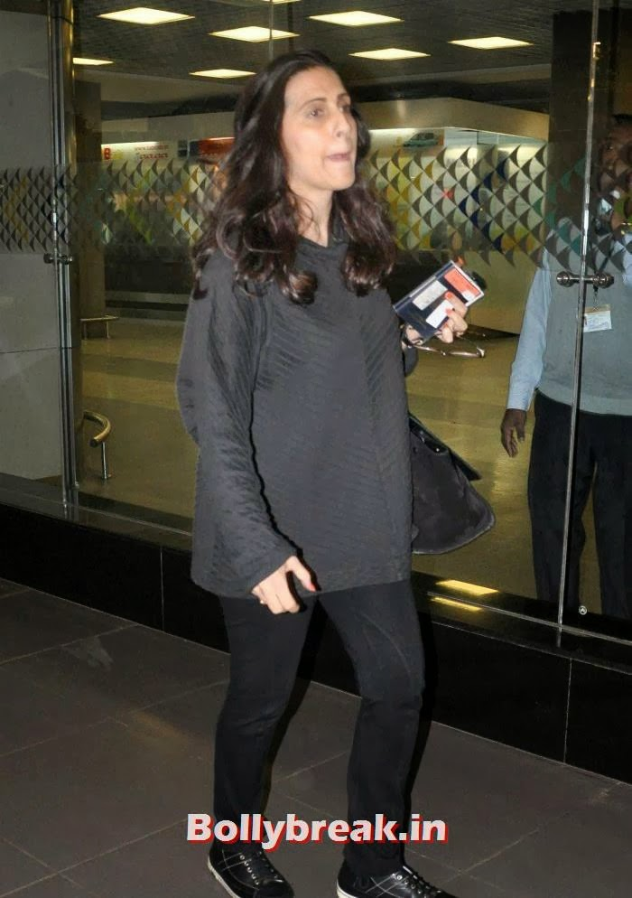 Sunita Kapoor, New Year Celebrations: Various Celebs Snapped at Airport