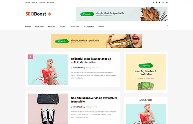 Seoboost best seo optimized blogger template themexpose seoboost best seo optimized blogger template pronofoot35fo Image collections
