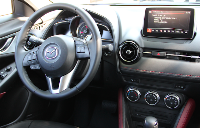 Rogers Cup VIP Tennis Weekend With Mazda CX- 3 - interior