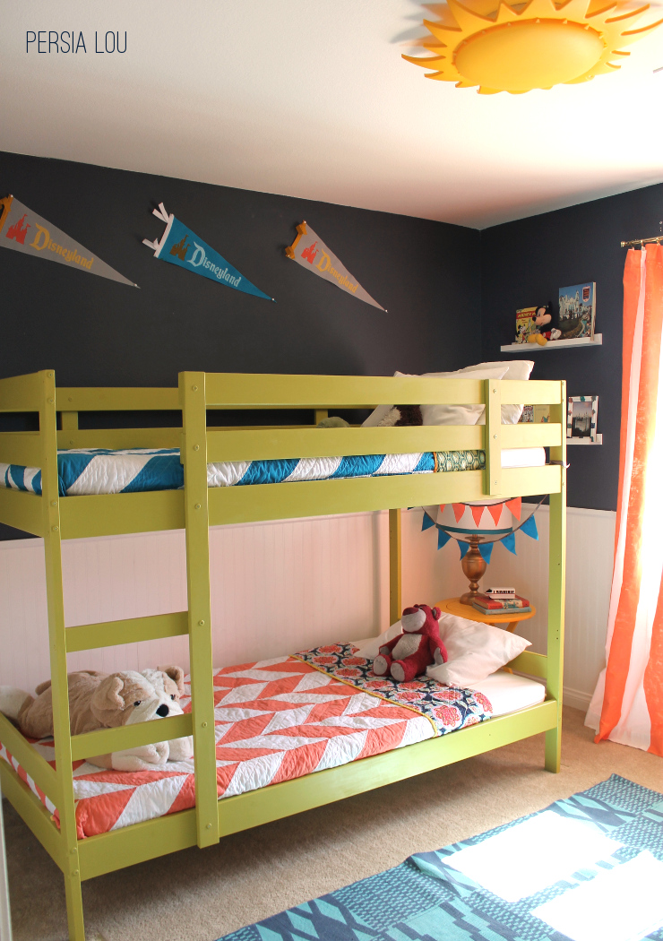 Shared Boys Geometrical Bedroom: Moved Permanently