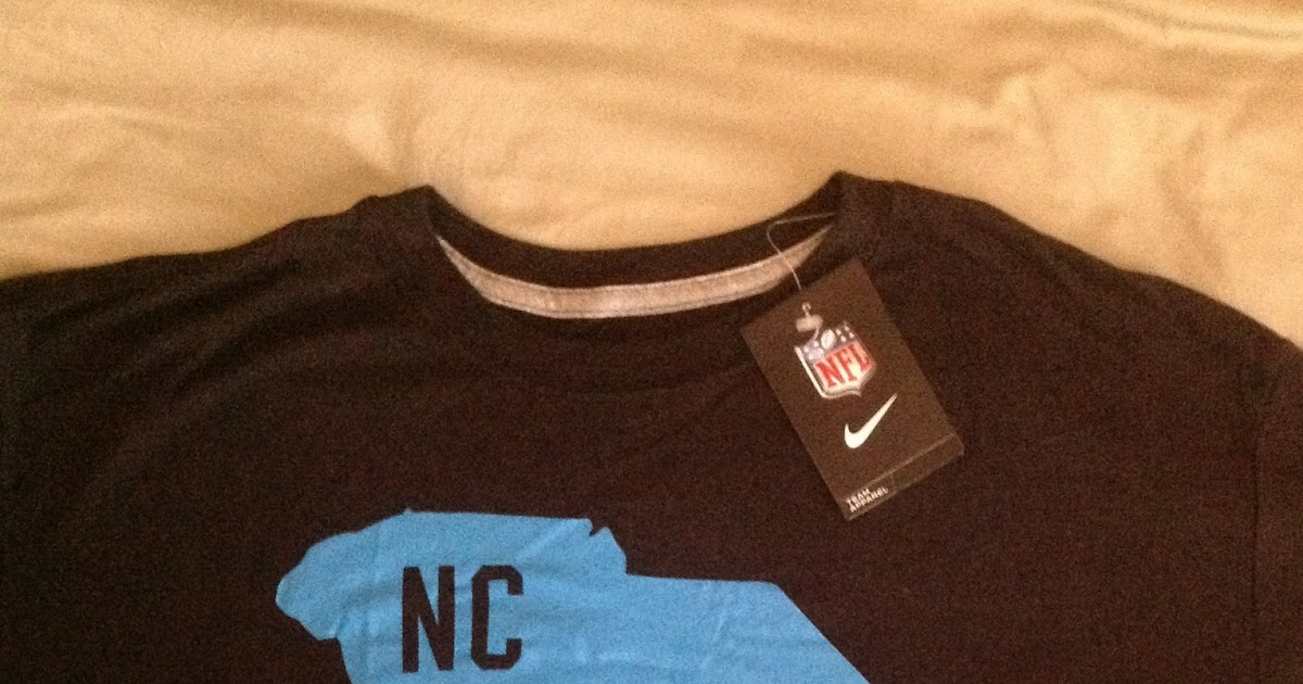afbe1a3a1 Scott Says ...: Nike apologizes for Panther T-shirt flub