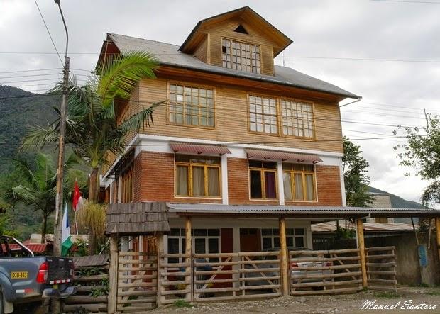 Oxapampa, abitazioni con influenze austro-germaniche