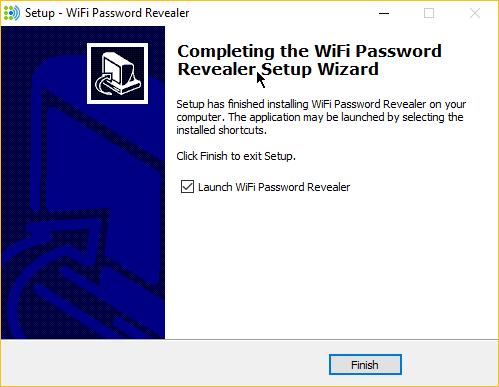 كيفية معرفة كلمة سر الواي فاي التي سبق لك الإتصال بها مع برنامج WiFi password revealer