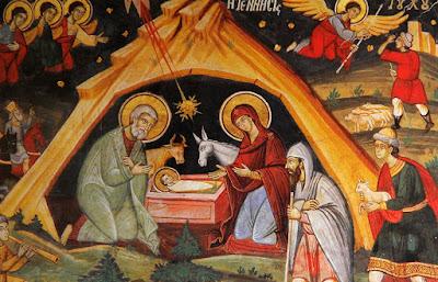 Ἀνακοίνωση γιά τόν Ἑσπερινό τῶν Χριστουγέννων