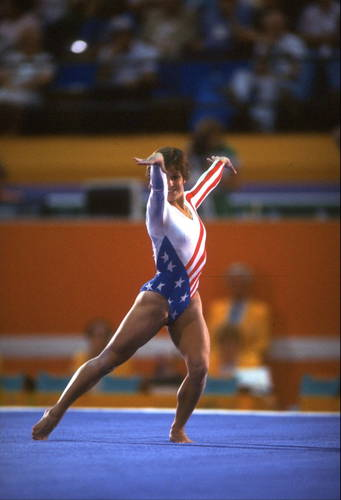 Mary Lou Retton in the Competition Photographic Print