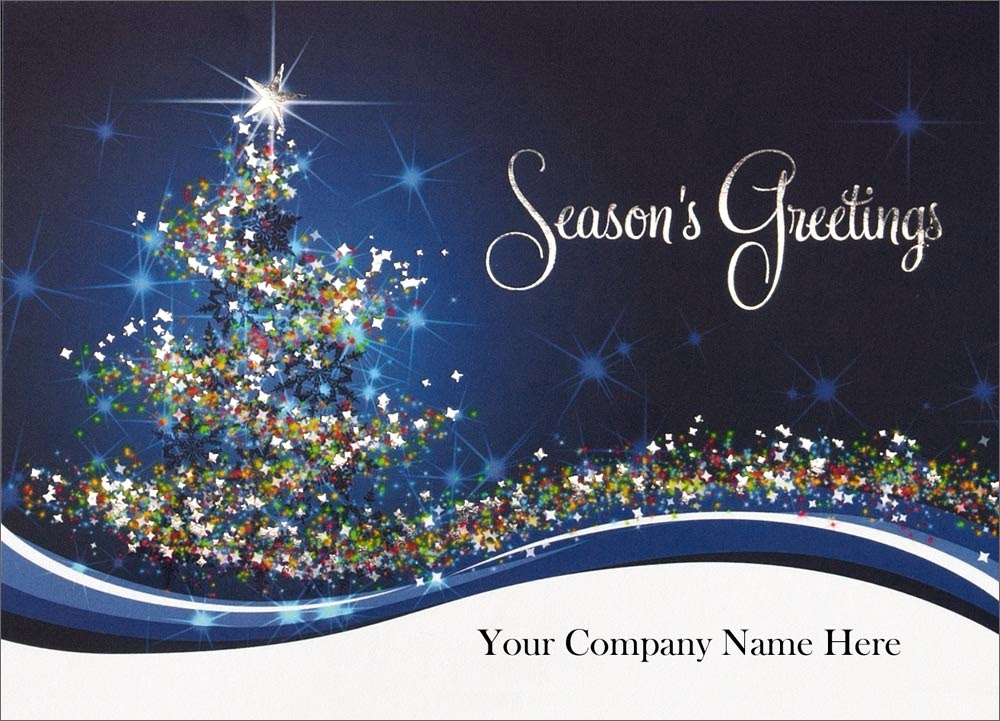 Business Christmas Cards With Printed Signatures Choice Image - Card ...