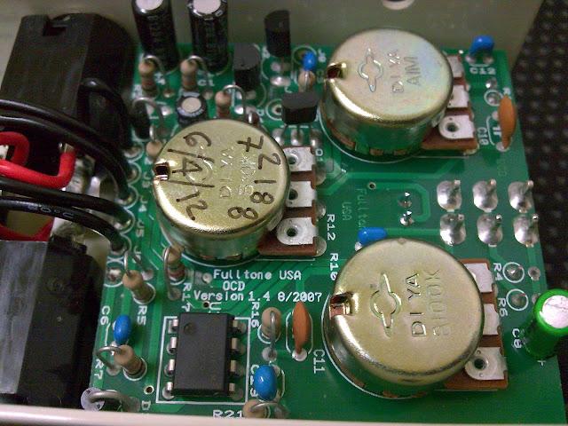 Fulltone OCD components