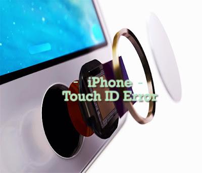 cara mengatasi fingerprint iphone tidak berfungsi