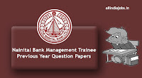 Nainital Bank Management Trainee Previous Year Question Papers
