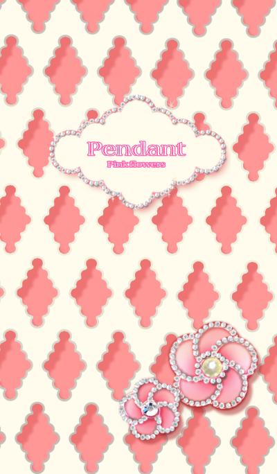 Pendant Pink flowers