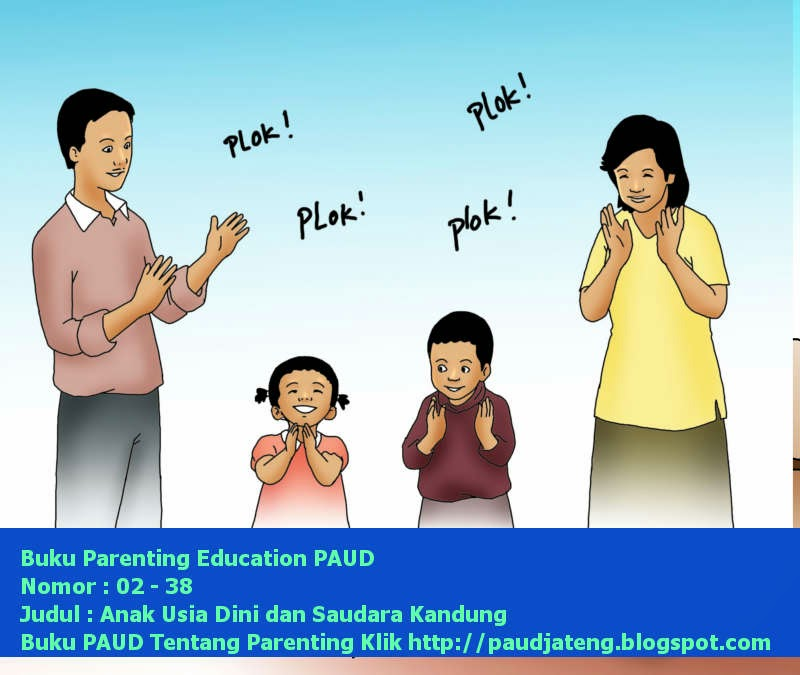 Buku Parenting Anak Usia Dini dan Saudara Kandung