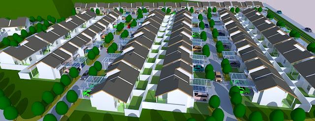 perumahan cluster