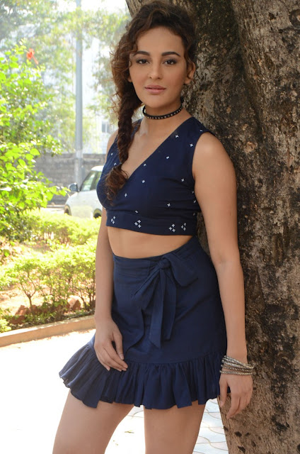 Actress Seerat Kapoor Hot at Okka Kshanam Teaser Launch