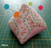 TILDA - Diamond Pincushion (+ Tutorial)