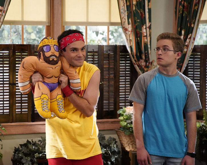 The Goldbergs - Episode 7.07 - WrestleMania - Promotional Photos + Press Release