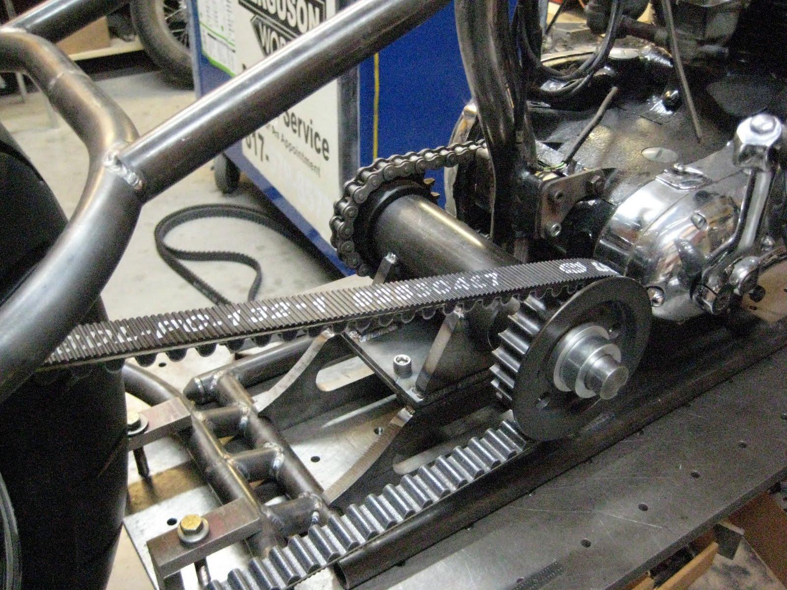 Texas Bike Works Triumph Project