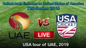 UAE vs USA 1st T20 2019, live cricket score, highlights, Entry of USA in IC