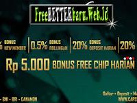 Promo CAPSAVIVA | Freebet 5K | Bonus Deposit 50%