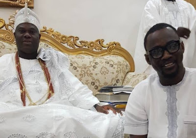 pasuma visits ooni of ife