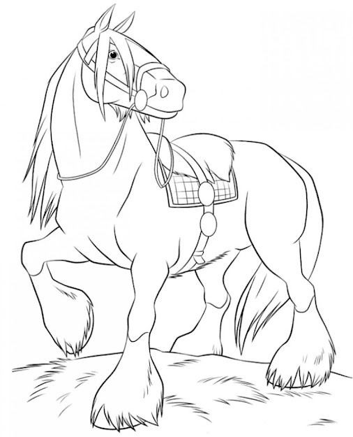 Cute Baby Horse Coloring Pages Free Download Get This Beautiful Cute