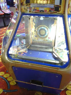 Photo of a 2p arcade machine in Southend on Sea